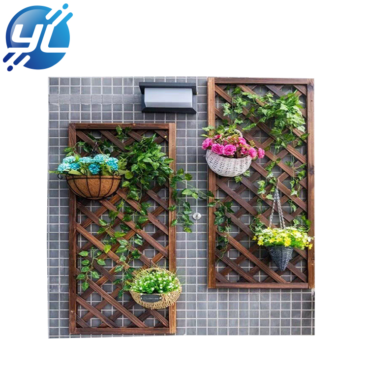 Modern home decoration wall shelf unique novelty small plant pot display rack